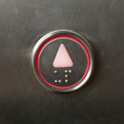 Up Elevator Button - How to Move Up Quickly in Your Career
